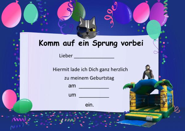 Hüpfburg Gorilla